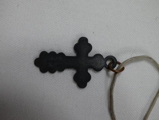 Нательный крест 40-х годов.