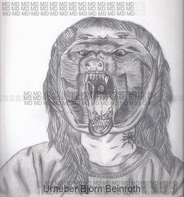 """""""Lykorexie"""" Din A4 Bleistift   [2012]"""