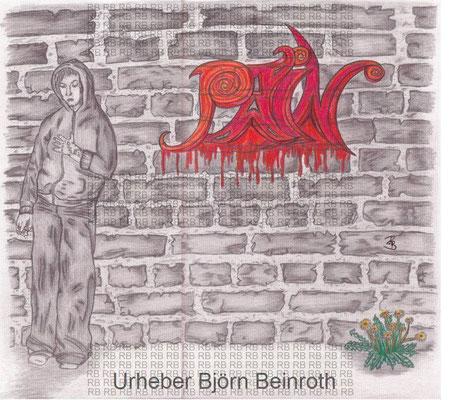 """""""Pain"""" Din A4 Bleistift   [2012]"""