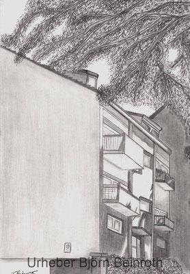 """Solingen Klingenstraße"" Bleistift Din A4   [2016]"
