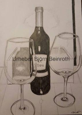 """""""Süßer Wein"""" Bleistift Din A4   [2016]"""