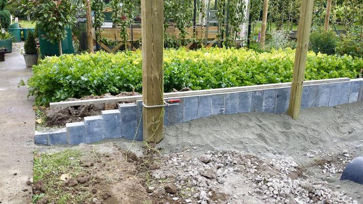 Construction de pergolas de jardin