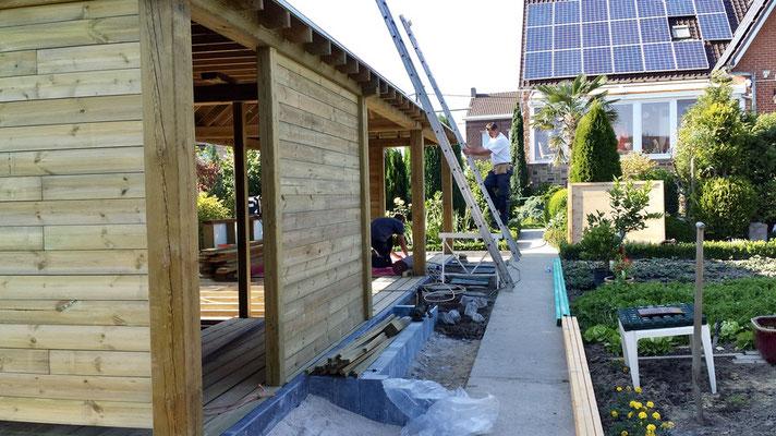Construction d'abris de jardin sur mesure par BLS jardin