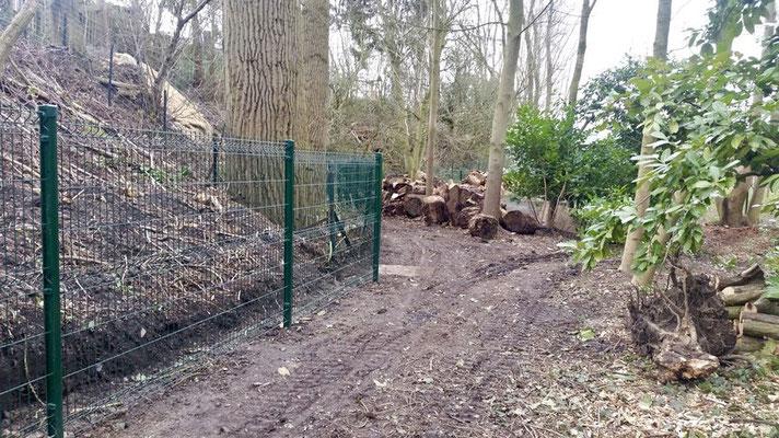 Placement de clôtures en Brabant Wallon