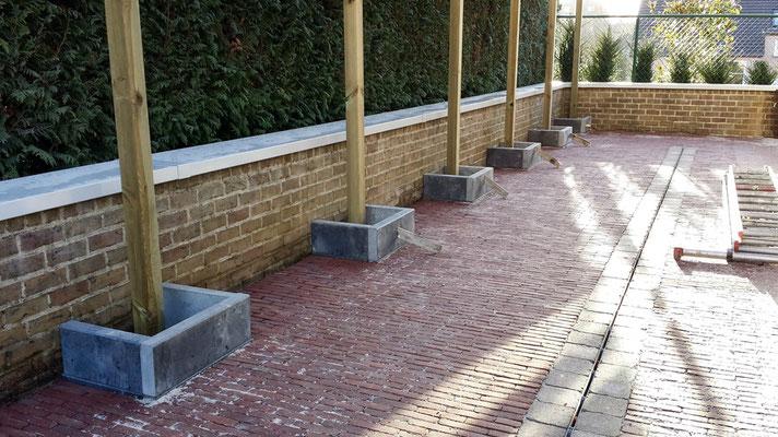 Aménagement de pergolas de jardin par BLS