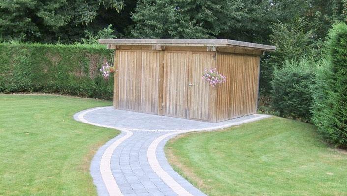 Construction d'abris de jardin en bois par BLS