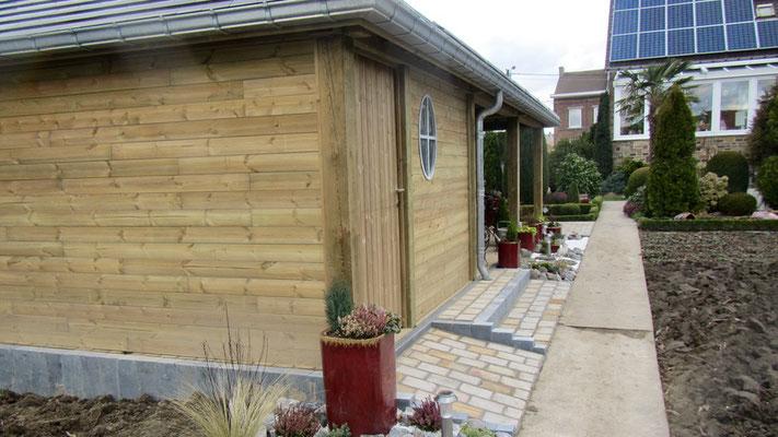 Abris de jardin et poolhouse sur mesure par BLS