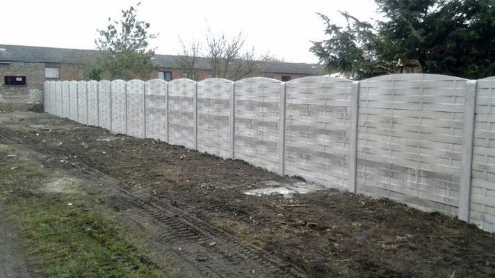 Construction de clotures en béton par BLS