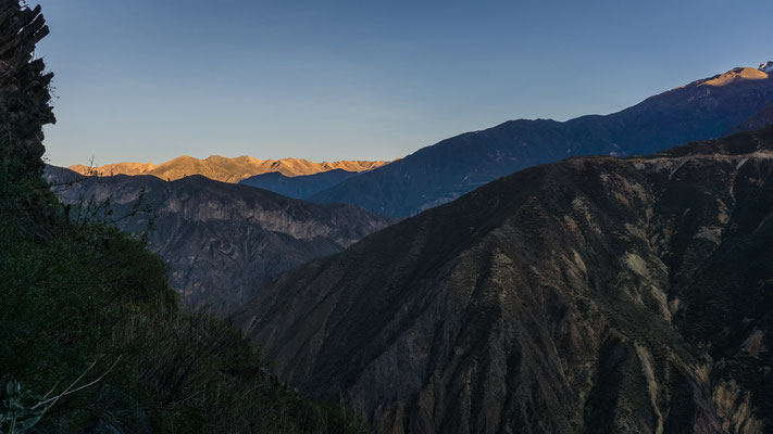 Sunrise, Colca Canyon, Peru