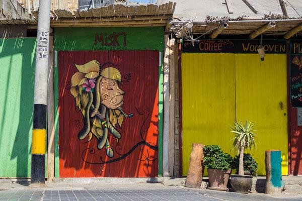 Street Art, Paracas, Peru