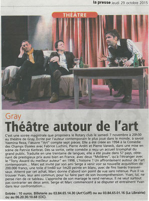 2015-10-29_ThéâtreART_LaPresseDeGray