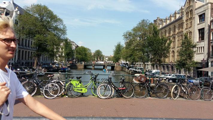 Amsterdam, die Velostadt