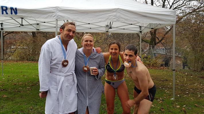 Nochem Zwibeleschwimme 2018 - mit Karin und Sergio Marchese