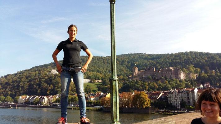 Tabea Ruegge in Heidelberg