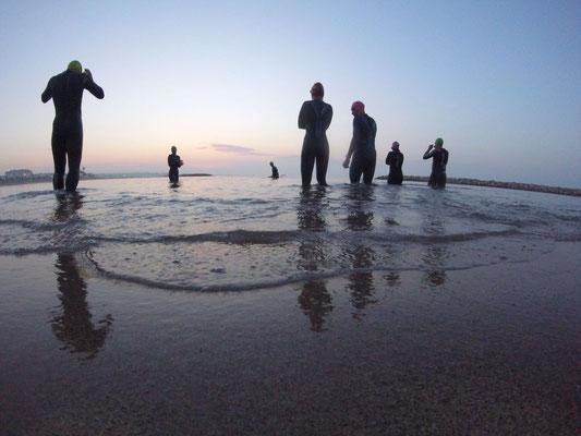 Openwater-Training im Gigathloncamp von Eitzinger Sport
