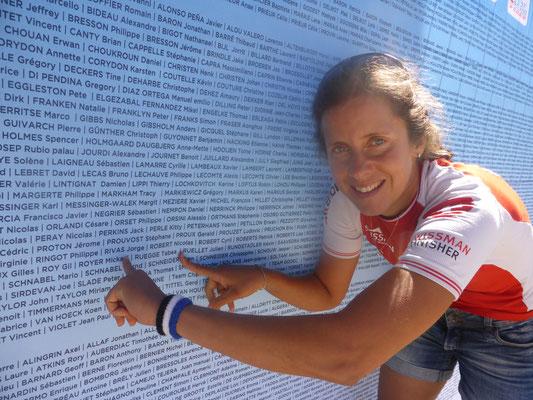 Auf der Startliste steht auch Tabea Ruegge!!
