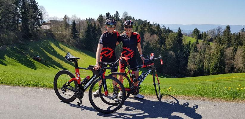 Daniel Althaus und Tabea Ruegge unterwegs im Emmental