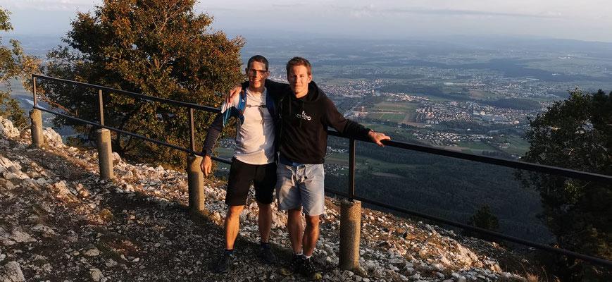 Gipfelfoto auf dem Balmfluhchöpfli