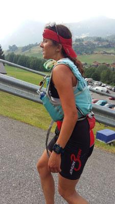 Bereits zu Fuss unterwegs - kurz nach Grindelwald