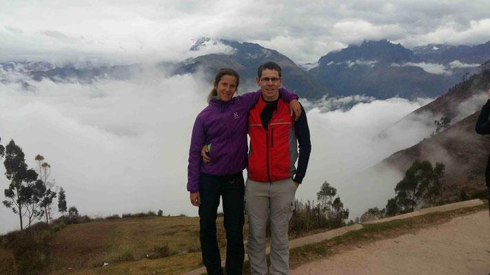 Aussicht auf den Nebelwald