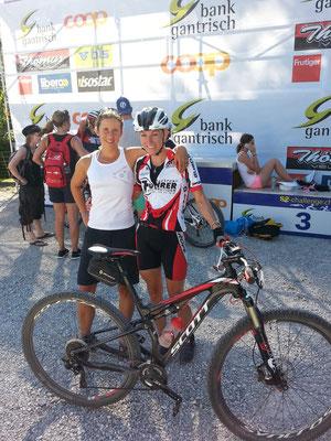 Tabea Ruegge und ihre Couplepartnerin