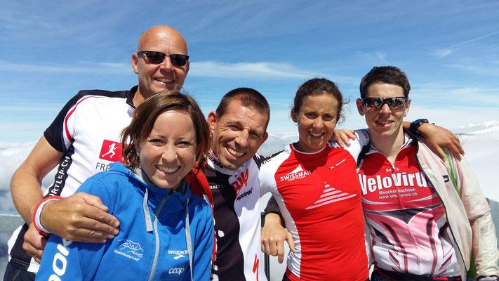 Gruppenfoto mit Andrea Torre, Daniel Althaus und Martin Weiss