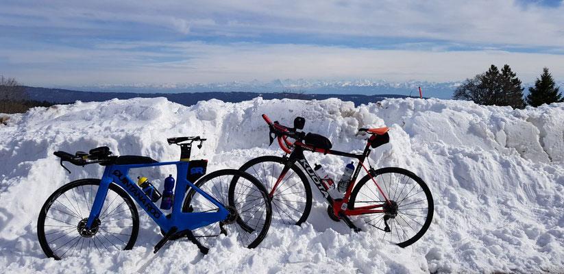 Auf dem Col de la Vue des Alpes