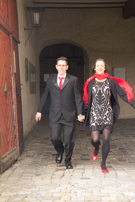 Schwungvoll ins Eheleben als Dinu&Tabea Ruegge