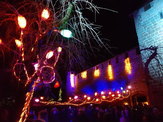 Lichtfestival in Murten