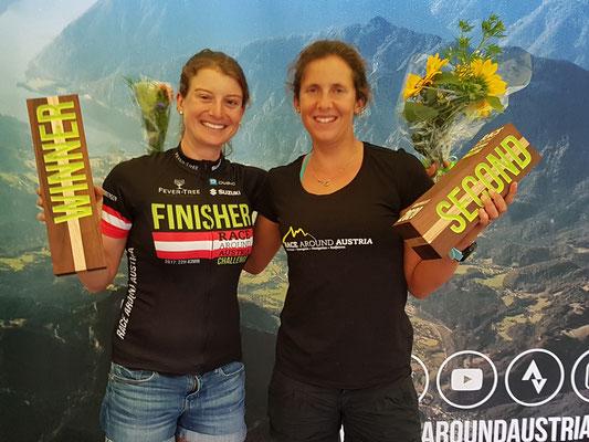 Die stolzen beiden schnellsten Frauen