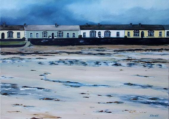 Kilkey Beach 70x50cm Ölfarbe auf Leinwand 2012