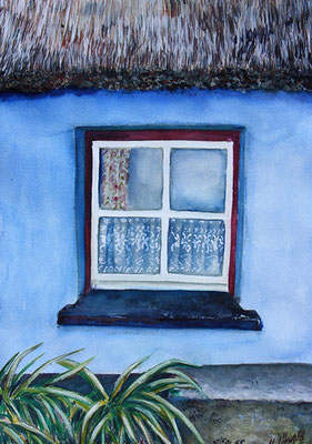 Fenster in Irland 50x65 Aquarell2012