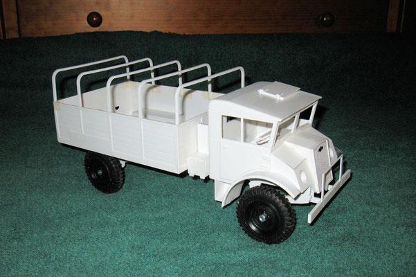 Chevy 134 Zoll Rahmen von vorne rechts