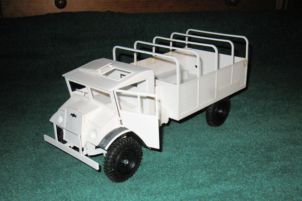 Chevy 134 Zoll Rahmen von vorne links