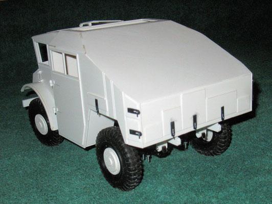 Chevy Gun Tractor von hinten