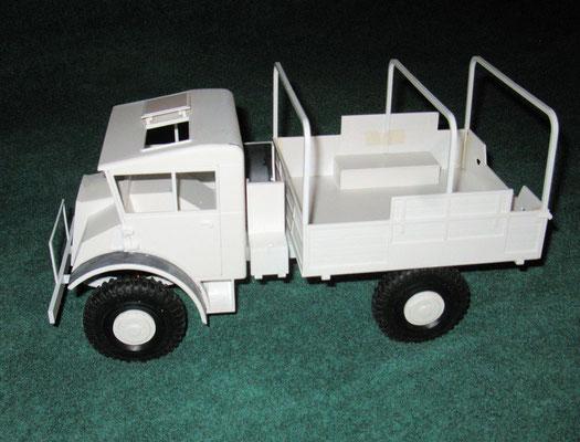 Chevy 115 Zoll Rahmen von links