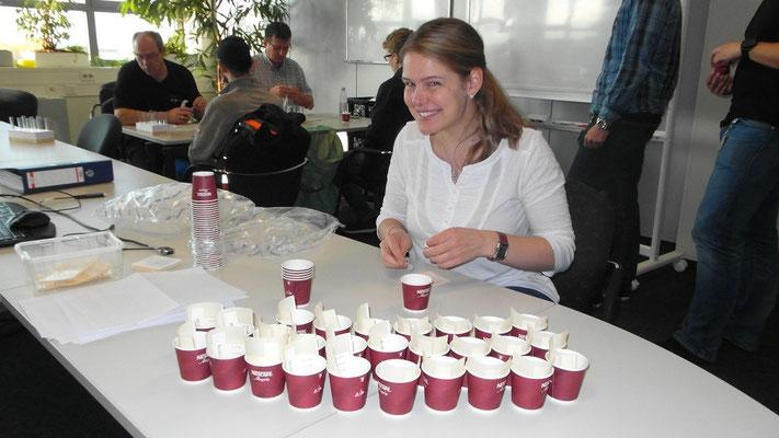 Michaela, von Hilfe für Anja e. V. - sie unterstütze am 2. Tag in Bühl