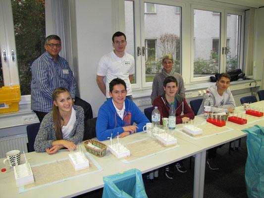 Das Helfer-Team von Schaeffler in Herzogenaurach