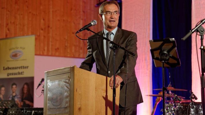 Werner Nickl, 1. Bürgermeister der Stadt Kemnath.