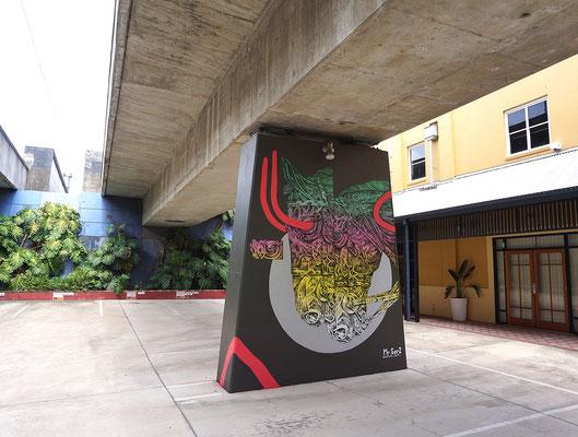 HORSE. Brisbane Street Arts Festival. Fish Lane, Brisbane, Australia. 2017