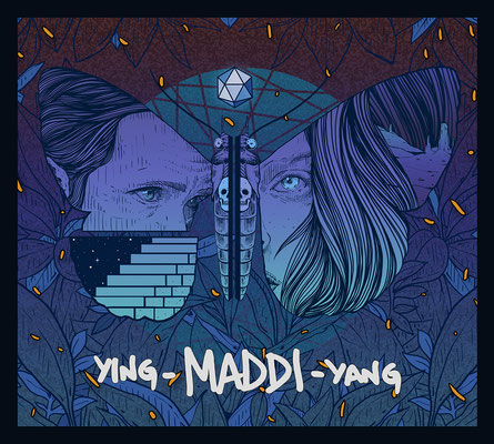 MADDI.  Full CD design and illustrations for this amazing band from the Basque Country.