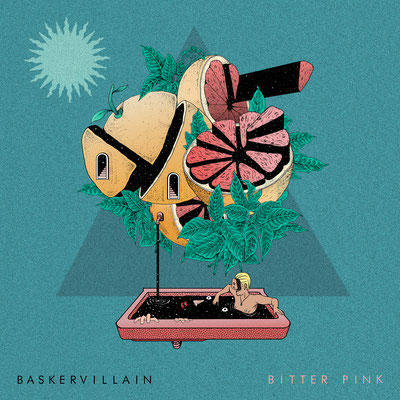 BASKERVILLAIN. Single Cover for this amazing band from Brisbane, Australia.