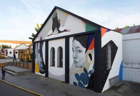 MIGRAR. Muro Critico, 2020. Alcuescar (Spain).