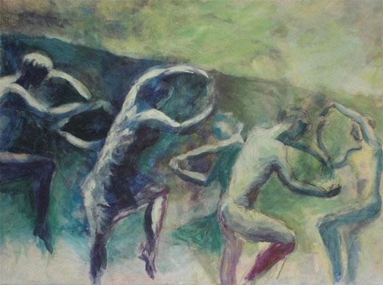 Le sacre*, 60x80 cm, Acry auf Leinwand