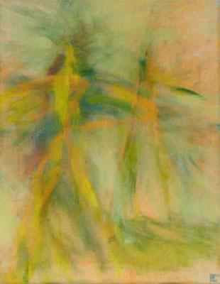 entrückt*, 40x30 cm, Acryl auf Leinwand