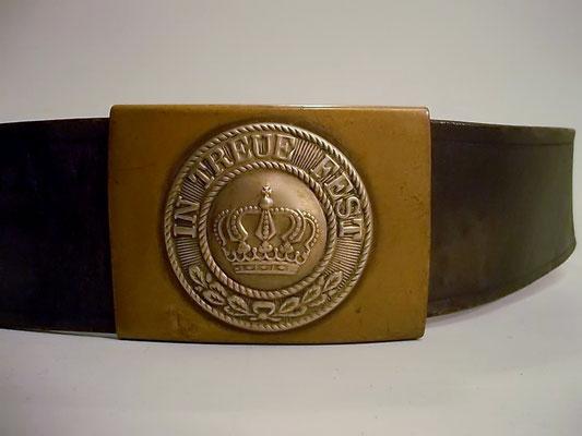 Gürtel mit Koppelschloß zu Königlich Bayerisches Infanterie-Leib-Regiment