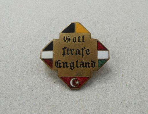 Kappenabzeichen emailliert 1.WK Türkei [Gallipoli]