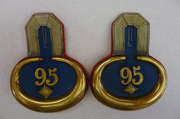 Epauletten Inf.Regiment 95 Sachsen-Coburg-Gotha