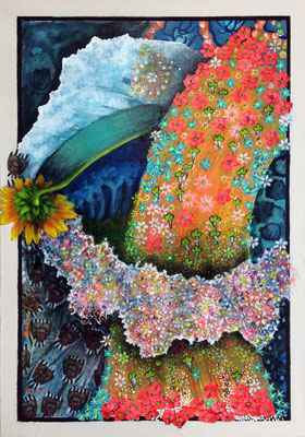 Glücksdusche - 100 x 70 cm