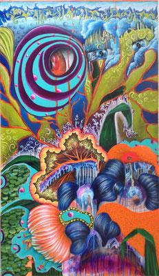 Brain of Nature - 180 x 105 cm- VERKAUFT